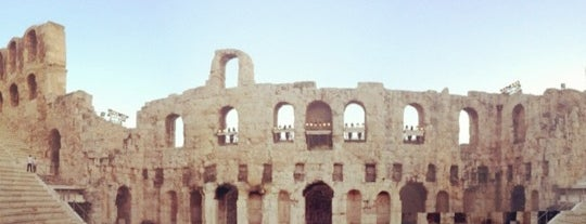 Herod Atticus Odeon is one of Travel Guide to Athens.