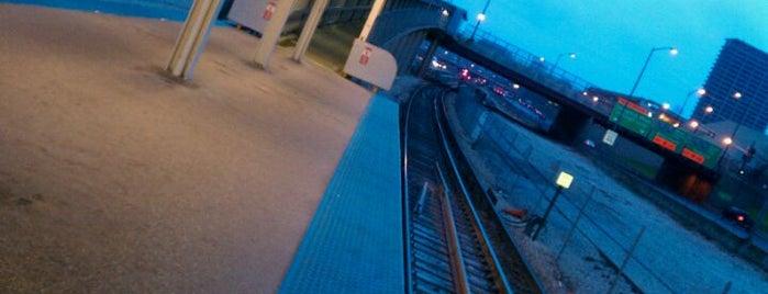 CTA - Racine is one of CTA Blue Line.