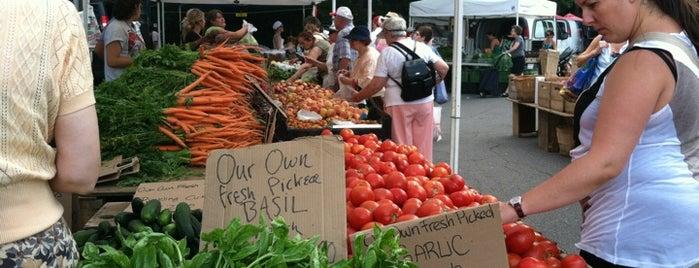 Coolidge Corner Farmers' Market is one of Nearby Neighborhoods: Coolidge Corner.