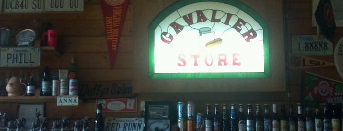 The Cavalier is one of Lynchburg: Food.