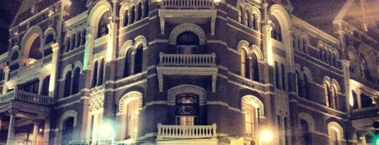 The Driskill is one of I spy with my 4sq eye.