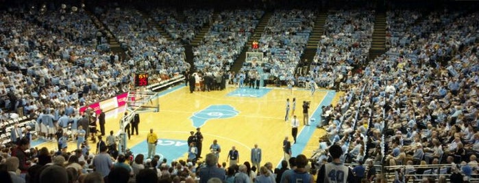 Dean E. Smith Center is one of Great Sport Locations Across United States.
