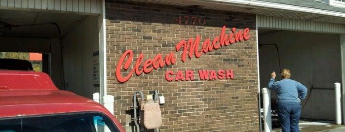Clean Machine Car Wash is one of q.