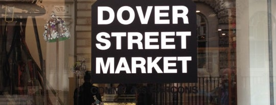 Dover Street Market is one of #OURLDN - W1.