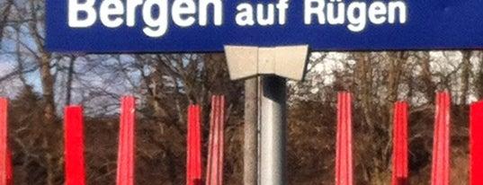 Bahnhof Bergen auf Rügen is one of DB ICE-Bahnhöfe.