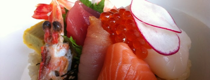 Sushi Ran is one of SF Chronicle Top 100 Restaurants 2012.