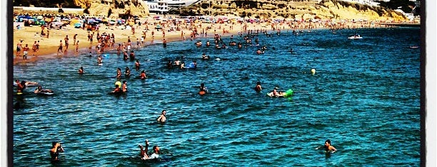 Praia da Oura is one of Algarve.