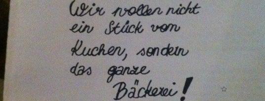 Das Bäckerei is one of vegan (friendly) vienna.