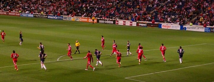 Toyota Park is one of Major League Soccer Stadiums.