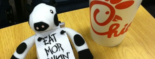 Chick-fil-A is one of On-Campus Dining.
