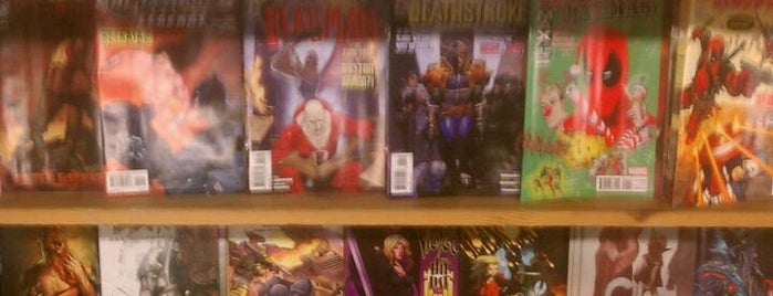 Comics Dungeon is one of Seattle's Best Bookstores - 2012.