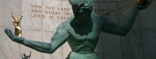 The Spirit of Detroit by Marshall Fredericks is one of Famous Statues Around the World.