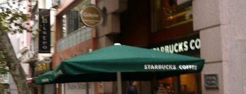 Starbucks is one of My favourites for Cafes & Restaurants.