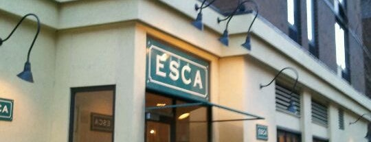 Esca is one of Restaurants.