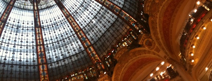 Galeries Lafayette Homme is one of Grands Magasins - Paris.