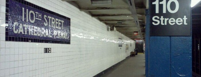 MTA Subway - 110th St/Cathedral Parkway (B/C) is one of Subway Stations.
