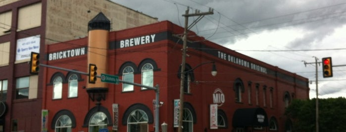 Bricktown Brewery is one of Use Your Keep It Local OK Card.