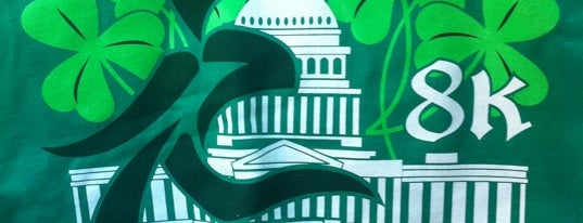 St Patrick's Day 8K Race is one of DC's favorites.