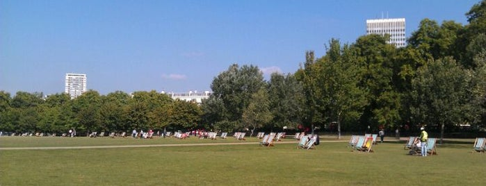 Hyde Park is one of London as a local.