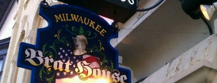 Milwaukee Brat House is one of Milwaukee's Best Spots!.