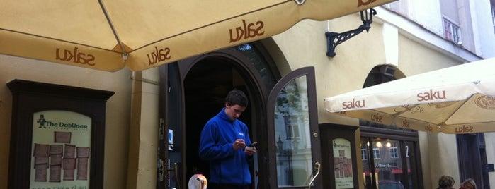 The Dubliner is one of The Barman's bars in Tallinn.