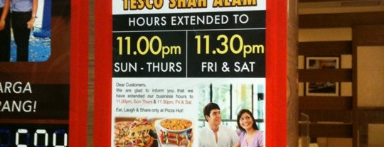 Pizza Hut is one of jalan2 cari makan seksyen 13 shah alam.