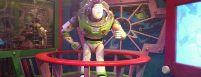 Buzz Lightyear's Astro Blasters is one of Disney.