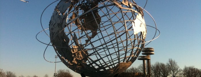 """The Unisphere is one of """"Be Robin Hood #121212 Concert"""" @ New York!."""