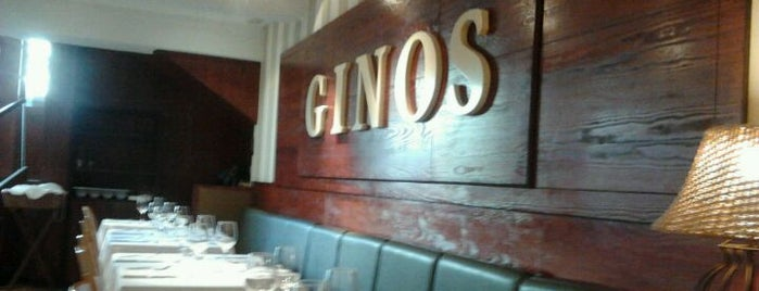 Ginos is one of Restaurantes.