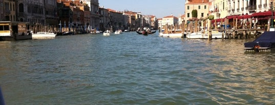 Canal Grande is one of Italis.