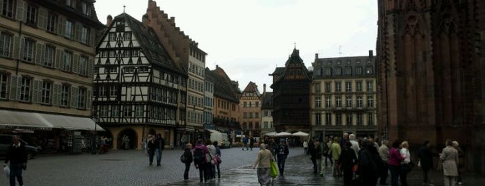 Place de la Cathédrale is one of Strasbourg.