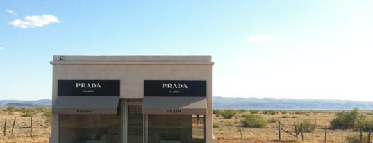 Prada Marfa is one of Marfa.