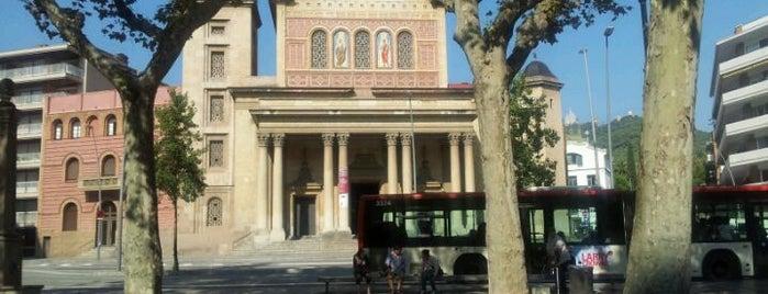 Plaça de la Bonanova is one of Top 10 places in Barcelona.