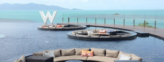 W Retreat Koh Samui is one of Where I stay.