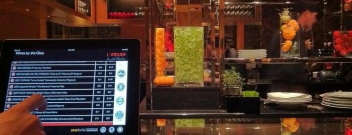 L'Atelier de Joël Robuchon is one of The Platt 101: NYC's Best Restaurants.