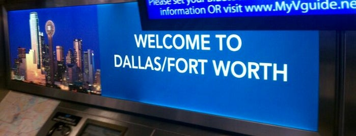 Flughafen Dallas Fort Worth (DFW) is one of Airports in US, Canada, Mexico and South America.