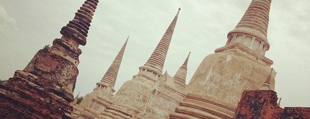 Ayutthaya Historical Park is one of UNESCO World Heritage Sites (Asia).
