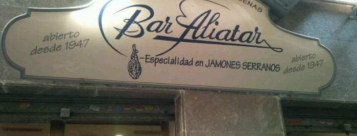 Bocateria Aliatar is one of Bares.