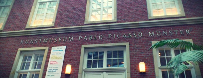Kunstmuseum Pablo Picasso is one of Münster - must visit.
