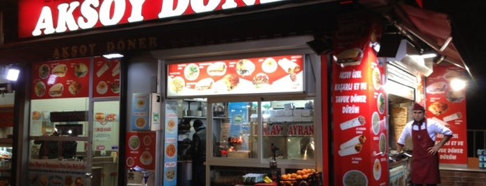 Aksoy Döner is one of istanbul.