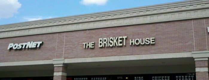 The Brisket House is one of Houston Press - 'We Love Food' - 2012.