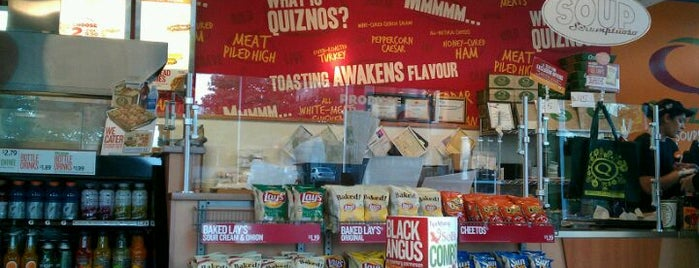 Quiznos is one of Favorites.
