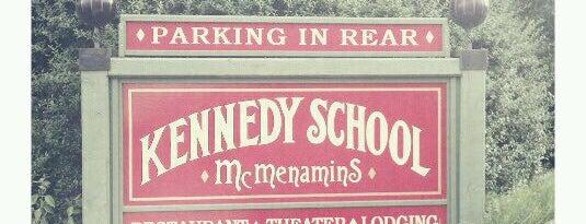 McMenamins Kennedy School is one of McMenamin's.