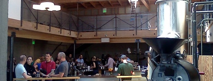 Sightglass Coffee is one of My favourite places in SF.