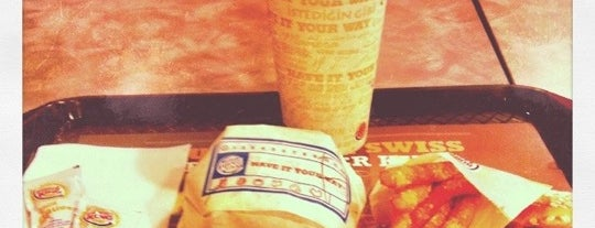BURGER KING is one of le 4sq with Donald :).