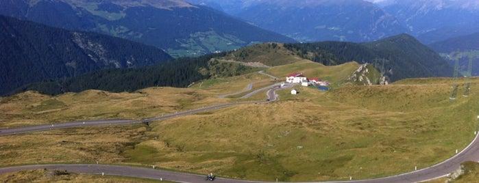 Jaufenpass 2094m is one of Alto Adige.