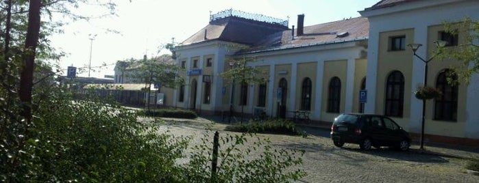 Železniční stanice Hodonín is one of Železniční stanice ČR: H (3/14).