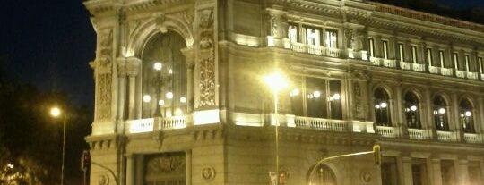 Banco de España is one of Conoce Madrid.