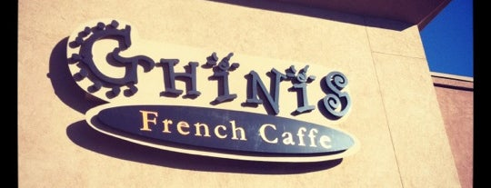Ghini's French Caffe is one of Tucson Eats.