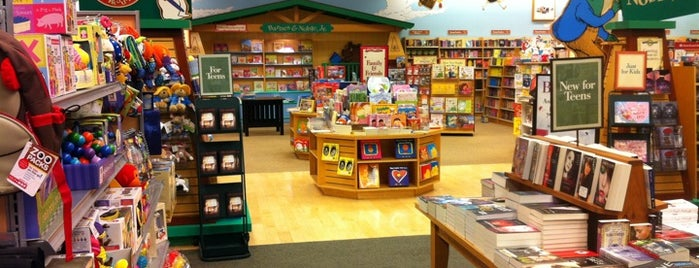 Barnes & Noble is one of Favorite Places to Shop.